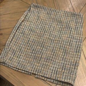 Ann Taylor Wool-look pencil skirt